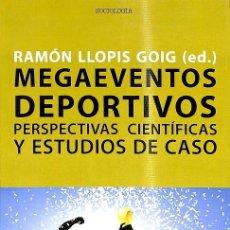 Libros de segunda mano: MEGAEVENTOS DEPORTIVOS. Lote 235358335