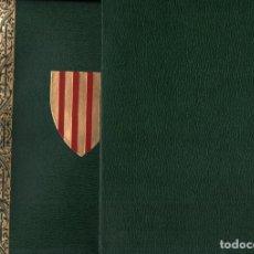 Libros de segunda mano: LLIBRE DEL CONSOLAT DE MAR (1978) FACSÍMIL NUMERAT DE L'EDICIÓ DE 1523 - CATALÁN. Lote 235405890