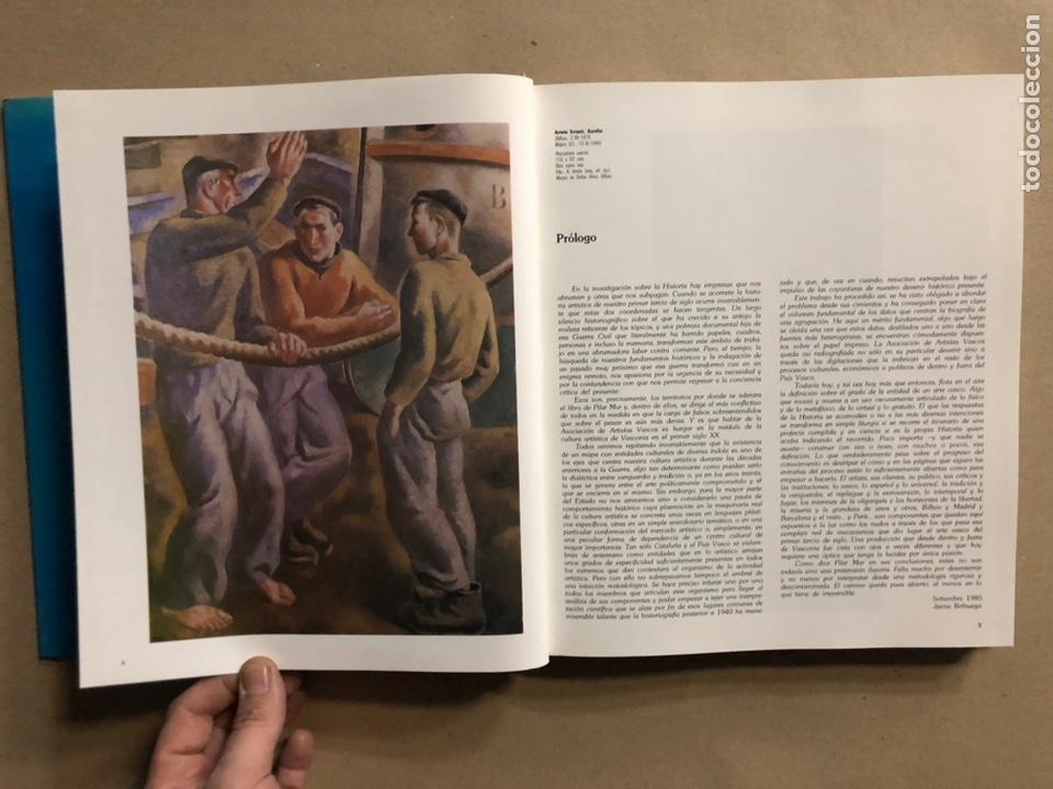 Libros de segunda mano: LA ASOCIACIÓN DE ARTISTAS VASCOS. PILAR MUR PASTOR. EDITA: MUSEO DE BELLAS ARTES DE BILBAO 1985 - Foto 5 - 235534280