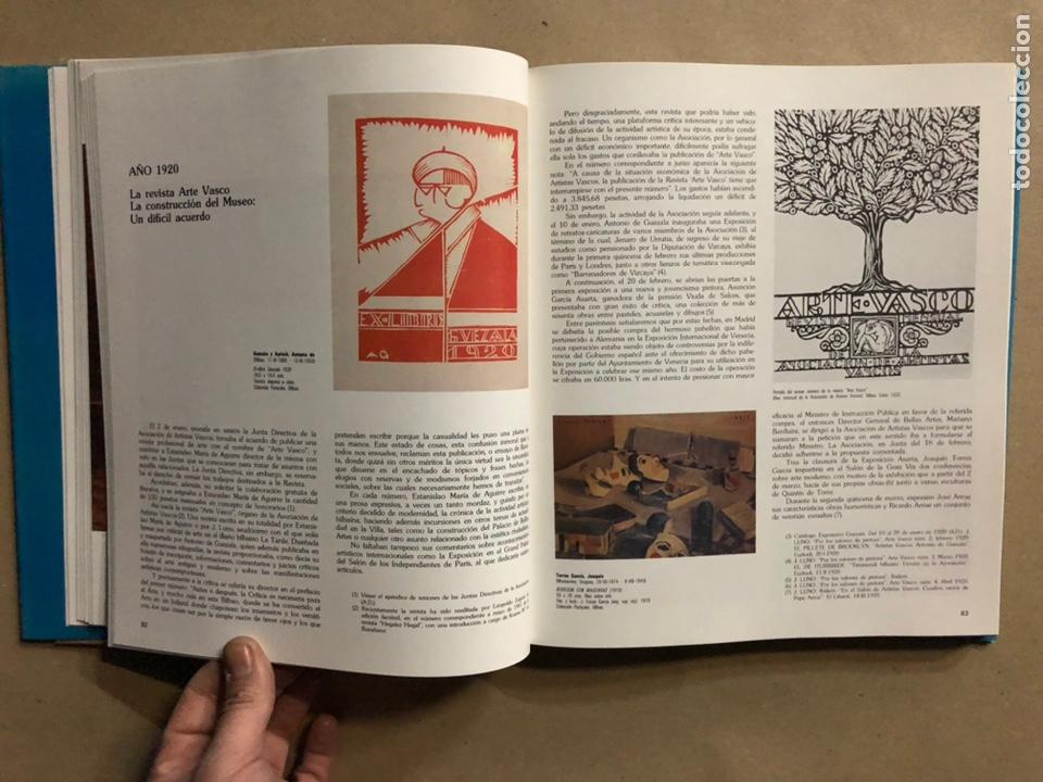 Libros de segunda mano: LA ASOCIACIÓN DE ARTISTAS VASCOS. PILAR MUR PASTOR. EDITA: MUSEO DE BELLAS ARTES DE BILBAO 1985 - Foto 10 - 235534280