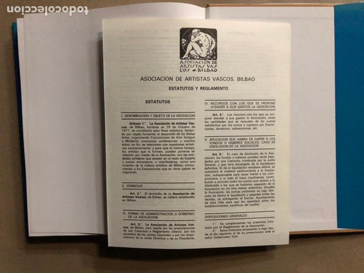 Libros de segunda mano: LA ASOCIACIÓN DE ARTISTAS VASCOS. PILAR MUR PASTOR. EDITA: MUSEO DE BELLAS ARTES DE BILBAO 1985 - Foto 20 - 235534280