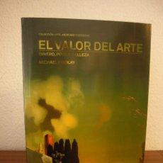 Libros de segunda mano: MICHAEL FINDLAY: EL VALOR DEL ARTE (FUNDACIÓN GALA-SALVADOR DALÍ, 2013) COMO NUEVO. MUY RARO.. Lote 235549785