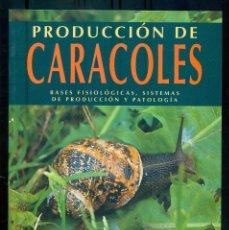 Libros de segunda mano: NUMULITE *4 PRODUCCIÓN DE CARACOLES RAFAEL CUÉLLAR BASES FISIOLÓGICAS SISTEMAS DE PRODUCCIÓN. Lote 235567905