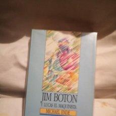 Libros de segunda mano: JIM BOTÓN Y LUCAS EL MAQUINISTA, DE MICHAEL ENDE. Lote 235590460