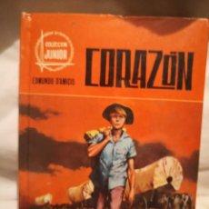 Libros de segunda mano: CORAZÓN, DE EDMUNDO D'AMICIS. Lote 235601065
