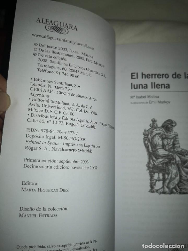 """Libros de segunda mano: """"POESÍA ESPAÑOLA PARA JÓVENES"""" de varios autores Y """"EL HERRERO DE LA LUNA"""", de Mª Isabel Molina - Foto 3 - 235609100"""