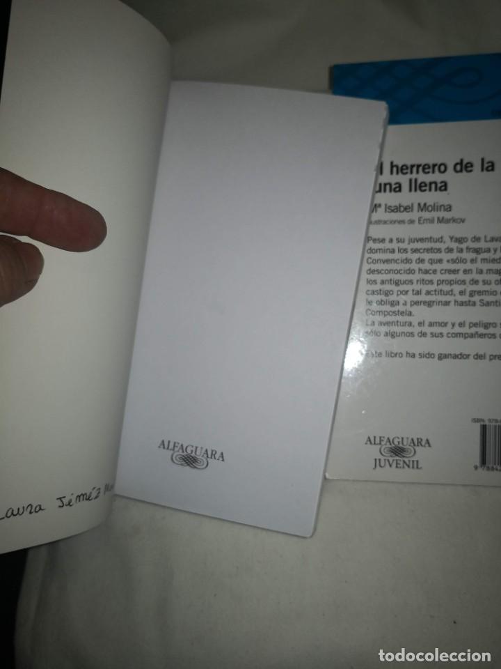 """Libros de segunda mano: """"POESÍA ESPAÑOLA PARA JÓVENES"""" de varios autores Y """"EL HERRERO DE LA LUNA"""", de Mª Isabel Molina - Foto 5 - 235609100"""