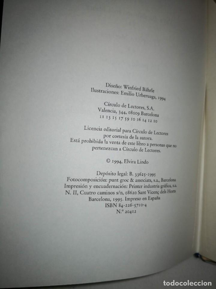 Libros de segunda mano: MANOLITO GAFOTAS de Elvira Lindo - Foto 2 - 235610240