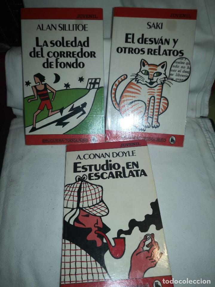 LA SOLEDAD DEL CORREDOR DE FONDO Y 2 TÍTULOS MÁS (Libros de Segunda Mano - Literatura Infantil y Juvenil - Otros)