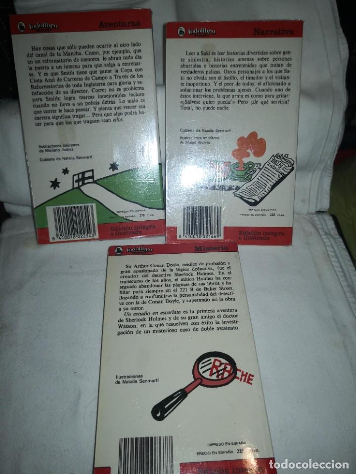 Libros de segunda mano: LA SOLEDAD DEL CORREDOR DE FONDO Y 2 TÍTULOS MÁS - Foto 2 - 235612380