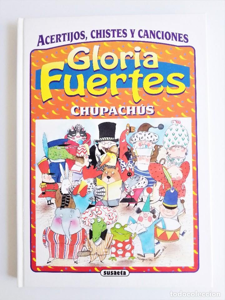Libros de segunda mano: CHUPACHÚS de Gloria Fuertes, ACERTIJOS, CHISTES Y CANCIONES Margarita Menéndez, Susaeta Ediciones - Foto 2 - 235642425