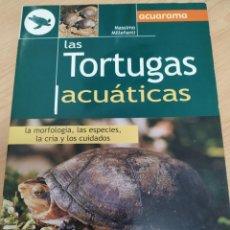 Libros de segunda mano: LOS TOTUGAS ACUATICAS. Lote 235677250