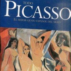 Libros de segunda mano: CLAIR. JEAN. - TODO PICASSO EL MAYOR GENIO ESPAÑOL DEL SIGLO.. Lote 235693010