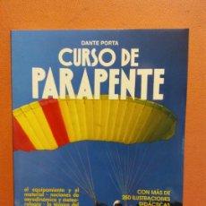 Libros de segunda mano: CURSO DE PARAPENTE. DANTE PORTA. EDITORIAL DE VECCHI. Lote 235695940