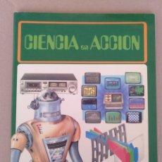 Libros de segunda mano: CIENCIA EN ACCIÓN. MICROORDENADORES. SISTEMAS DE SONIDO. TELEVISIÓN Y VIDEO. EDITORIAL HMB. LIBRO. Lote 235704140