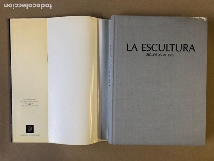 Libros de segunda mano: LA ESCULTURA, HISTORIA DE UN ARTE (LA TRADICIÓN DE LA ESCULTURA ANTIGUA DESDE EL S.XV AL XVIII - Foto 2 - 235704970