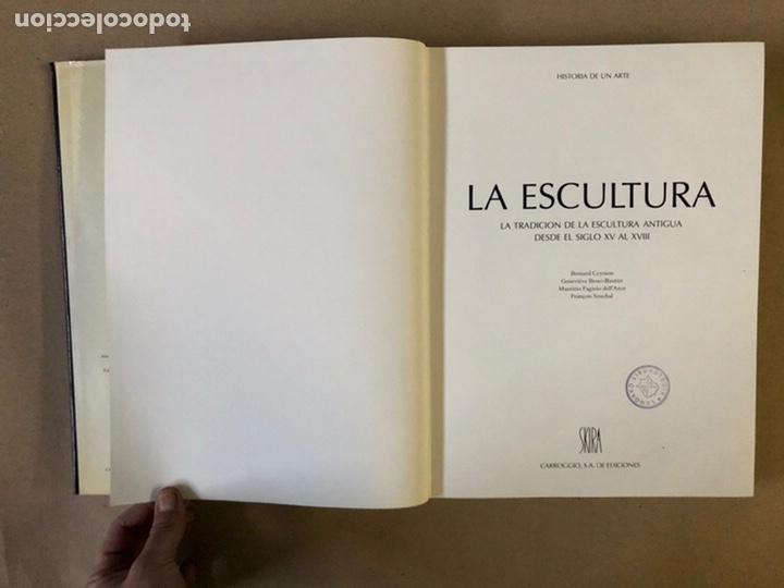 Libros de segunda mano: LA ESCULTURA, HISTORIA DE UN ARTE (LA TRADICIÓN DE LA ESCULTURA ANTIGUA DESDE EL S.XV AL XVIII - Foto 3 - 235704970