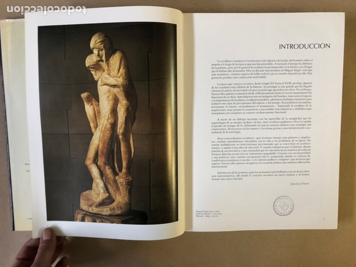 Libros de segunda mano: LA ESCULTURA, HISTORIA DE UN ARTE (LA TRADICIÓN DE LA ESCULTURA ANTIGUA DESDE EL S.XV AL XVIII - Foto 6 - 235704970