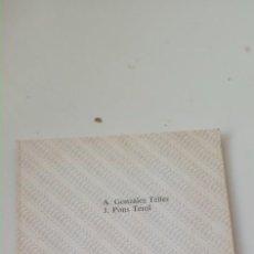 Libros de segunda mano: LENGUAJE ENSAMBLADOR. DEPART. DE INGENIERÍA DE SISTEMAS, COMPUTADORES Y AUTOMÁTICA. A. GONZÁLEZ TEL. Lote 235796600