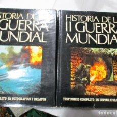 Libros de segunda mano: ROTHBERG, FREDERICKS, O´KEEFE HISTORIA DE LA II GUERRA MUNDIAL(2 TOMOS)319 W5145. Lote 235879675