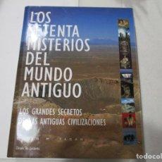 Libros de segunda mano: BRIAN M. FAGAN LOS SETENTA MISTERIOS DEL MUNDO ANTIGUO W5147. Lote 235882405