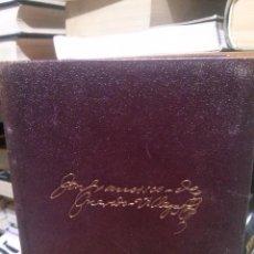Libros de segunda mano: DON FRANCISCO DE QUEVEDO VILLEGAS, OBRAS COMPLETAS PROSA, ED. AGUILAR MADRID. Lote 235991235