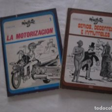 Libros de segunda mano: COLECCION MINGOTE: 1. LA MOTORIZACION Y 2. SERIOS, DECENTES E INMUTABLES - 1973. Lote 236134890