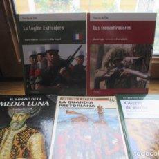 Libros de segunda mano: 5 LIBROS DE OSPREY. Lote 236198165