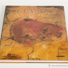 Libros de segunda mano: ALTAMIRA - PEDRO A. SAURA RAMOS. TAPA DURA SOBRECUBIERTA. GRAN FORMATO. FOTOGRAFIAS COMO NUEVO. Lote 236236475