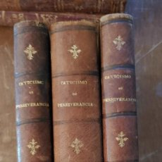 Libros de segunda mano: TOMOS I, II Y IV CATECISMO DE PERSEVERANCIA DE LA RELIGION, PYMY 77. Lote 236242335