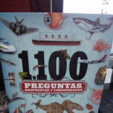Libros de segunda mano: 1100 PREGUNTAS RESPUESTAS Y CURIOSIDADES EDITORIAL SUSAETA. Lote 236245530