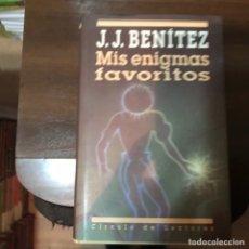 Libros de segunda mano: MIS ENIGMAS FAVORITOS. J. J. BENÍTEZ. Lote 236251995
