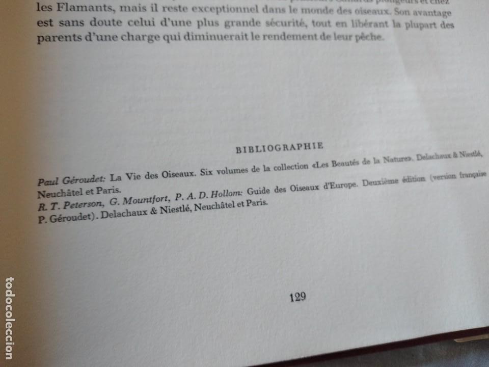 Libros de segunda mano: Las aves reproductoras de Europa(Volumen 3). les oiseau nicheurs d´europe,paul géroudet,1967,frances - Foto 16 - 236298945
