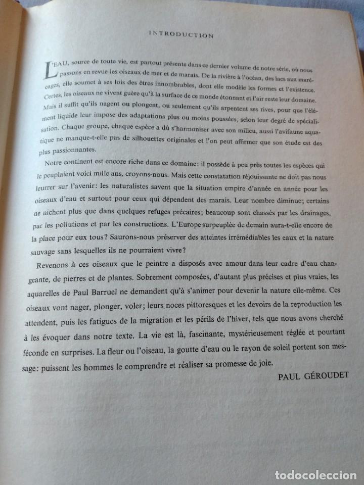 Libros de segunda mano: Las aves reproductoras de Europa(Volumen 4). les oiseau nicheurs d´europe,paul géroudet,1962,frances - Foto 5 - 236299050