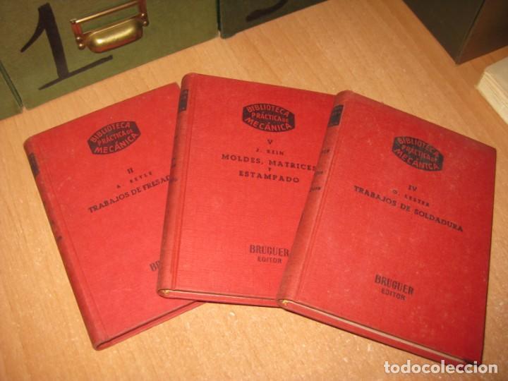 7 LIBROS DE BIBLIOTECA PRACTICA DE MECANICA (Libros de Segunda Mano - Ciencias, Manuales y Oficios - Otros)
