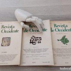 Libros de segunda mano: REVISTA DE OCCIDENTE ORTEGA Y GASSET. Lote 236309215