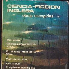 Libros de segunda mano: CIENCIA FICCIÓN INGLESA. OBRAS ESCOGIDAS. TOMO I. AGUILAR. 1969. Lote 236312140