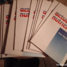 Libros de segunda mano: MILUPA ACTUALIDAD NUTRICIONAL 19 REVISTAS NUEVAS. Lote 236341495