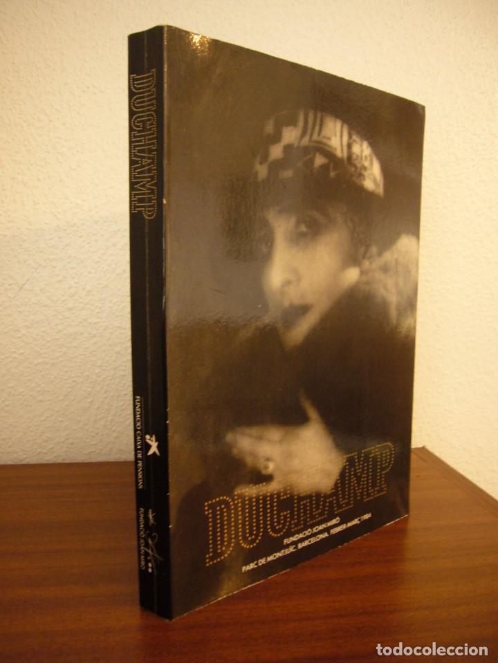 CATÀLEG/ CATÁLOGO EXPOSICIÓN DUCHAMP FUNDACIÓ JOAN MIRÓ 1984. TEXTO CATALÁN/ INGLÉS. (Libros de Segunda Mano - Bellas artes, ocio y coleccionismo - Otros)