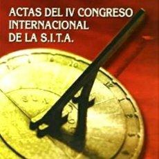 Libros de segunda mano: ACTAS IV CONGRESO S.I.T.A. (SOCIEDAD INTERNACIONAL TOMAS AQUINO). TOMO 1: PONENCIAS. (464 PÁGINAS). Lote 236423560