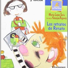 Libros de segunda mano: LOS RETRATOS DE RENATO. MARISA LÓPEZ SORIA. Lote 236503575
