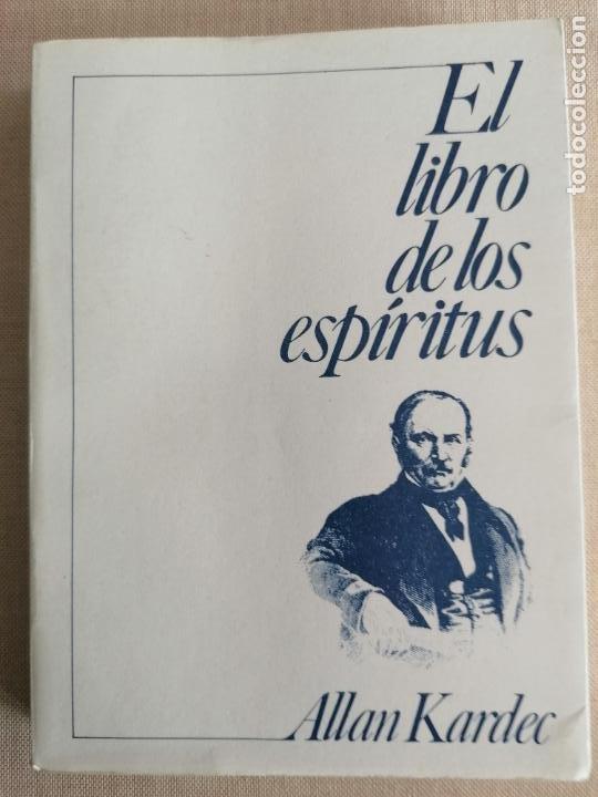 EL LIBRO DE LOS ESPÍRITUS - ALLAN KARDEC - INST. DE DIFUSÄO ESPIRITA 1984 390PP (Libros de Segunda Mano - Pensamiento - Otros)