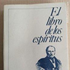 Libros de segunda mano: EL LIBRO DE LOS ESPÍRITUS - ALLAN KARDEC - INST. DE DIFUSÄO ESPIRITA 1984 390PP. Lote 236523235