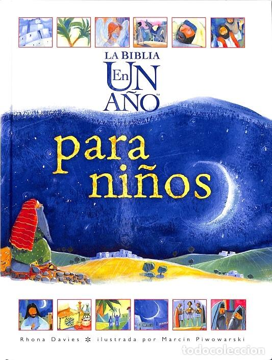 LA BIBLIA EN UN AÑO PARA NIÑOS (Libros de Segunda Mano - Literatura Infantil y Juvenil - Otros)