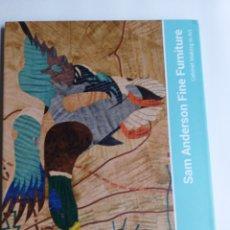 Libros de segunda mano: SAM ANDERSON FINE FURNITURE. CABINET MAKING IN ART . . MUEBLES DECORACIÓN DISEÑO. Lote 236573190