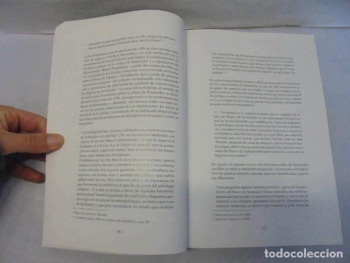 Libros de segunda mano: TESTIGO DE UNA EPOCA. EL BANCO DE SANTANDER EN LA ECONOMIA DE CANTABRIA. 1857-1945. A.GUTIERREZ 2006 - Foto 10 - 236631315