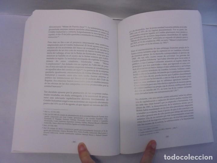 Libros de segunda mano: TESTIGO DE UNA EPOCA. EL BANCO DE SANTANDER EN LA ECONOMIA DE CANTABRIA. 1857-1945. A.GUTIERREZ 2006 - Foto 12 - 236631315