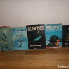 Livros em segunda mão: RICHARD BACH DON DE VOLAR ILUSIONES AJENO A LA TIERRA BIPLANO J SALVADOR GAVIOTA DISPONGO MAS LIBROS. Lote 236731395
