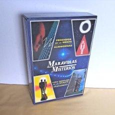 Libros de segunda mano: JOSEP SARRET - MARAVILLAS Y MISTERIOS (4 TOMOS) - EDICIONES HYMSA 1998. Lote 236731675