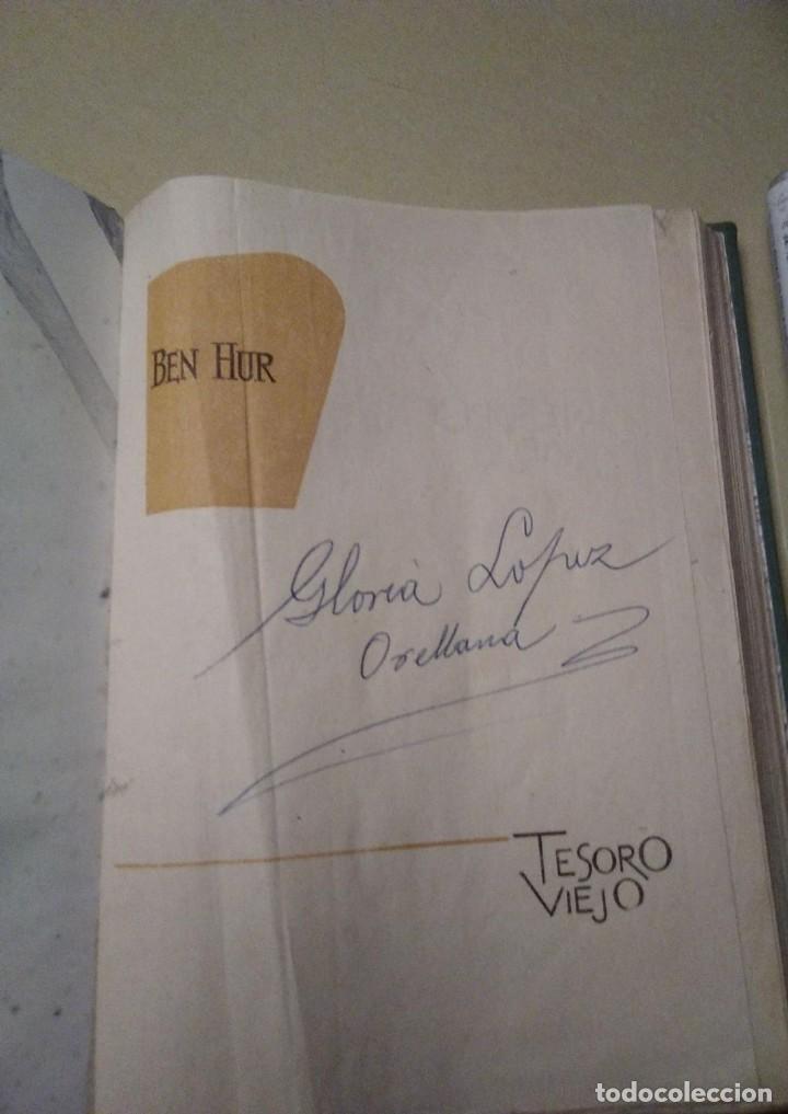 Libros de segunda mano: BEN HUR POR LEWIS WALLACE TESORO VIEJO EDICIONES RODEGAR - Foto 3 - 236735475